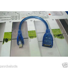 Blue Full Copper OTG Host Cable Micro to USB Female for SAMSUNG Sony Android