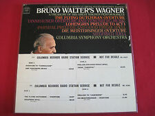 RARE CLASSICAL PROMO LP BOX SET - BRUNO WALTER'S WAGNER - COLUMBIA M2L 343
