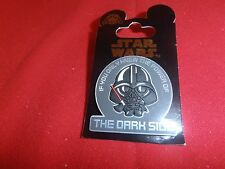 "1 Disney 3D Star Wars Pin Young Puffy Vader ""If you only k... New on Card  Lot H"