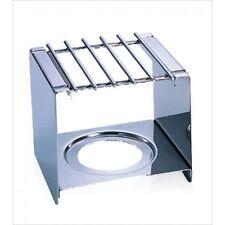 New Stainless Steel Mini Butane Burner Stand for Mocha Fondue Pot (JAS-077023)