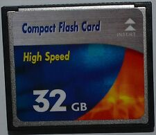 Speicherkarte 32 GB CF High Speed Compact Flash für Digital Kamera Nikon D300