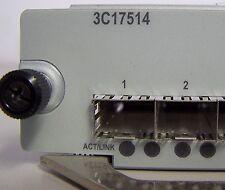 JE911A  HP 24-PORT 1000BASE-X 8800 MODULE (3C17514) 90 Day Warranty