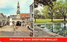 B101639 greetings from shepton mallet    uk 14x9cm