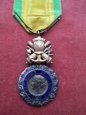 Genuine - French Military Medal. Medaille Militaire. Trophy of Arms suspender.