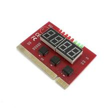 Analysis LED 4 Digit  Analyzer PC Motherboard Tester POST Diagnostic Card