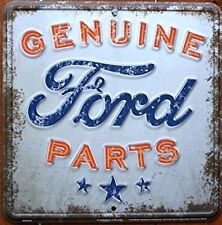 Genuine Part Built Ford Tough Sign Powerstroke Plate Diesel 4x4 logo tag license