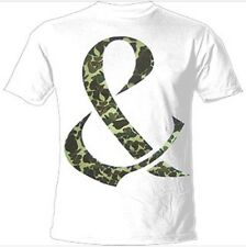 Of Mice & Men - Camo Ampersand  T-shirt Size Large