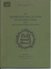 SOTHEBY'S Antique Islamic Coins Reference Books Collection Auction Catalog 1981