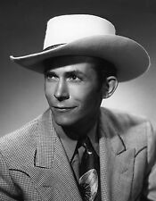 HANK WILLIAMS SR 8X10 GLOSSY PHOTO PICTURE