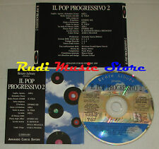 CD RENZO ARBORE POP PROGRESSIVO 2 AREA VOLO STORMY SIX ACQUA FRAGILE (*)(C14)