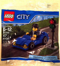 30349 SPORTS CAR promo CITY TOWN lego NEW poly bag legos set AUTOMOBILE