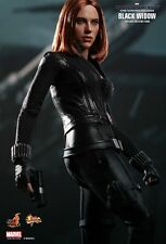 HOT TOYS MMS239 CAPTAIN AMERICA THE WINTER SOLDIER: BLACK WIDOW FIGURE *NEW*