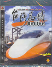 Railfan Taiwan Koutetsu High Speed Rail PS3 Game All Region English Chinese NEW
