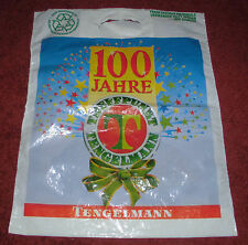 dachbodenfund plastiktüte alt tengelmann 100  tragetasche plastik tüte sammler