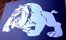 high detail airbrush stencil british bulldog FREE UK  POSTAGE
