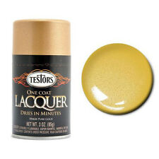 Testors PURE GOLD LACQUER SPRAY PAINT Model Hobby RC
