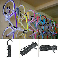 Bicycle Storage Hanger Rack Garage Wall Mount Bike Steel Hook Holder Black New