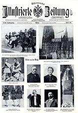 Zeppelin II umkreist den Kölner Dom Bilder der Woche Sonntag 15 August 1909