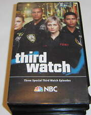 THIRD WATCH - Official Emmy 2 VHS VIDEO SET - 3 episodes from Season Three, 9/11
