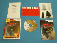 THE LEGEND OF ZELDA Twilight Princess Special ed.   RPG game for Nintendo Wii