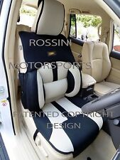 TO FIT A SKODA OCTAVIA CAR, SEAT COVERS, BO 4 ROSSINI MESH SPORTS BEIGE + BLACK