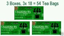 3 ballerina tea Dieters Drink (Extra Strength) - 3 boxes x 18 tea bags
