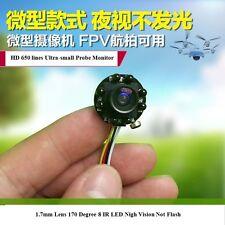 HD 650TVL 8 Leds Night Vision 940nm IR Security Indoor CCTV Mini Camera