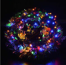 EU Plug Outdoor 10M 100LED String Light Christmas Wedding Party Fairy Light