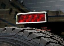 CHROME Rear Brake Light Cover Frame trim For Jeep Wrangler JK 2007-2016