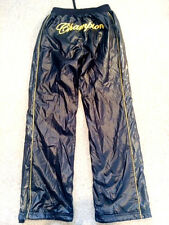 champion vintage cal surf shiny  glanz nylon pants  28 w wet look