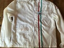 Blue Marlin Vintage 60's Surf Motorcycle L Jacket Racing Steve McQueen Lucky