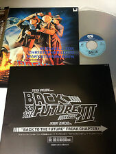 LD BACK TO THE FUTURE Part 3 w/obi sheet  Subtitles Laser Disc Japan