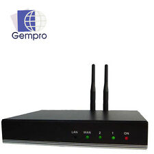 VoIP GSM Gateway 2 GSM Channel; SIP to Asterisk 3CX FreeSWITCH Elastix Askozia