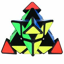 2016 Pyramid Triangle Magic Speed Cube Pyraminx Twist Puzzle Intelligence Toys