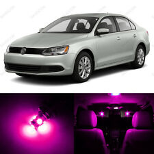 11 x Pink/Purple LED Interior Light Package For 2011 - 2013 VW Jetta MK6