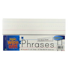 Learn to Write, Magic Wipe off Strips - Pack of 30 Reusable - by Clever Kidz