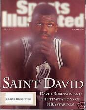 Sports Illustrated 1996 San Antonio Spur David Robinson Subscription Issue Exc.