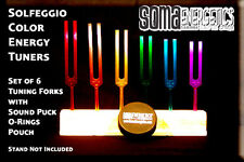 "Ancient Solfeggio ""Energy Tuners"" Tuning Fork Set ~Exclusively Ours"