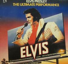 Elvis Presley(Vinyl LP)The Ultimate Performance-Ktel International-NE 1-VG/Ex