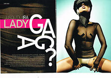 COUPURE DE PRESSE CLIPPING 094 2010 LADY GAGA  (6 pages)