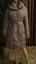 Cole Haan belted oversize collar DOWN COAT SZ MEDIUM NEW $395.00.