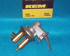 "1975 1976 1977 1978 Mercury Capri 4cyl 140"" KEM Mechanical Fuel Pump 1149"