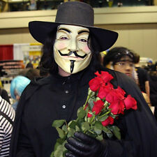 Halloween Mask V for Vendetta Mask Guy Fawkes Anonymous Costume Party cosplay