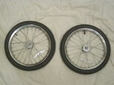 wheel set bicycle trailer replacement wheels tires spoke rims