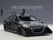 AUTOart 81356 2013 PEUGEOT 206 T16 PIKES PEAK RACE CAR 1/18 DIECAST PLAIN BLACK