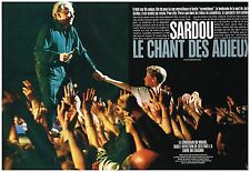 Coupure de presse Clipping 1998 (8 pages) Michel Sardou chante pour Jackie