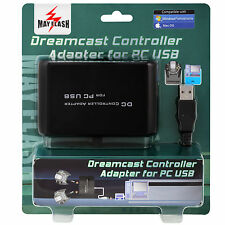 MayFlash Sega DC Dreamcast Dual Controller USB Adapter to for Windows PC Mac