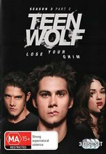 TEEN WOLF - SEASON 3 PART 2  - DVD - UK Compatible - New & sealed