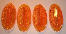 TPL 04011 Reflector de radios para Bicicleta Bike naranja 4 Piezas