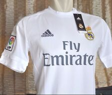 REAL MADRID Shirt Home 2015-2016 sz Large *Adult BNWT with Vinyl (bag)